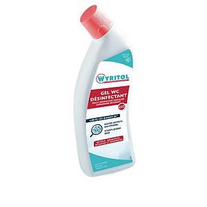 Gel surpuissant désinfectant WC Wyritol - flacon de 750 ml