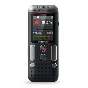 Diktiergerät Philips DVT 2510, Digital Pocket Memo, 8GB Speicher, 45x113x20