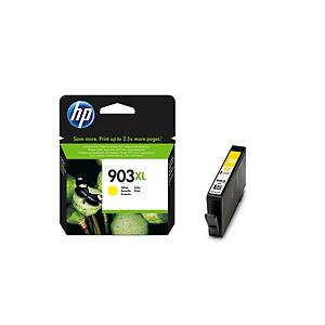 Blækpatron HP 903XL T6M11AE, 825 sider, gul