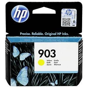 HP 903 Yellow Original Ink Cartridge (T6L95AE)