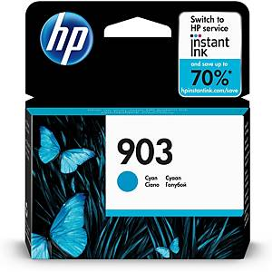 HP 903 Cyan Original Ink Cartridge (T6L87AE)