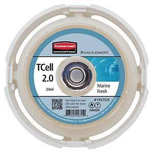 Rubbermaid Tcell 2.0 navulling luchtverfrisser Marine Fresh, 24 ml, per stuk