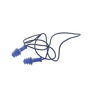 Caixa de 25 pares de tampões com cordão Medop Sigilo Plus - SNR 30 dB