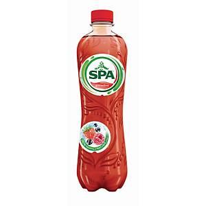Spa Fruit grenadine frisdrank, pak van 6 flessen van 0,5 l