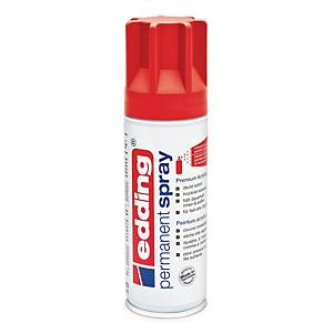 EDDING PERMANENT SPRAY RED MATT