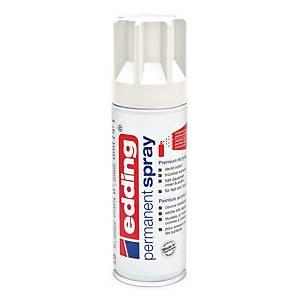 Permanent spray Edding, mat, trafik hvid