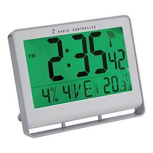 Ur Alba LCD, digital, 15 x 20 cm, sølvfarvet
