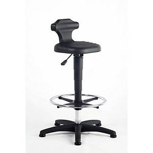 Interstuhl Black Draughtsman s Sit Stand Chair