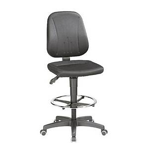 Interstuhl Black Draughtsman s Swivel Chair