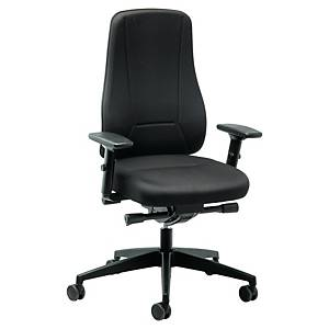 Prosedia Younico 2456 chair with synchrone mechanism black