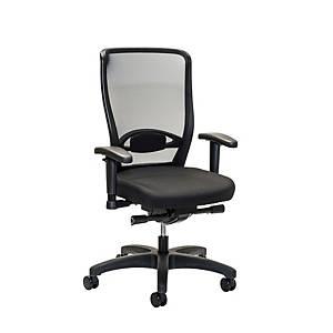 Cadeira com mecanismo sincronizado Prosedia Younico 3476 - preto