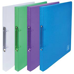 Oxford 2nd Life 2 Ring Binder PP 20mm Assorted Pack 4