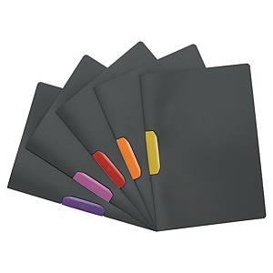 Chemise de présentation Durable Duraswing Color à clip - assortis - par 5