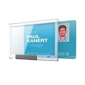 Porte-cartes Durable Pushbox Mono 8922-19, pour 1 carte, paq. 10unités