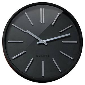 CEP GOMA SILENT CLOCK BLACK 350MM