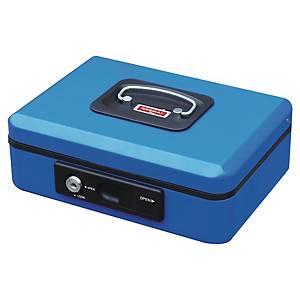 Geldkassette Reskal FA62142, Maße: 200 x 160 x 90mm, blau