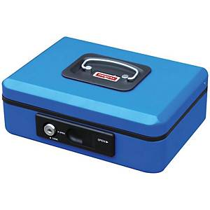 Reskal Cash Box W/Auto Button 200X160X90mm Blue