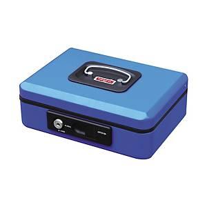 Kasetka z przyciskiem RESKAL, 200 x 160 x 90 mm, niebieska