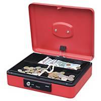 Geldkassette Reskal FA62144, Maße: 250 x 180 x 90mm, rot