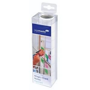 Folienrolle Legamaster Magic Chart 159000-A4, elektrost. haftend, kar., 25 Blatt