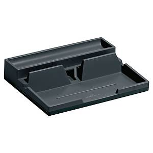DURABLE 761358 VARICOLOR DESK ORGANIZER CHARCOAL