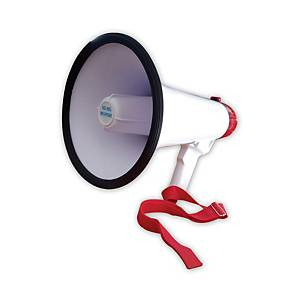 SD9SL RECHARGEABLE HAND GRIP MEGAPHONE WITH SIREN 15W ASSORTED COLOURS
