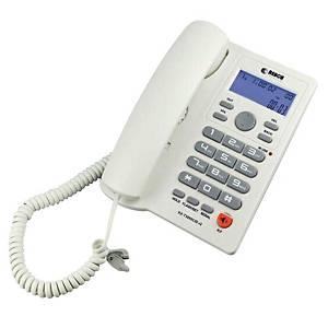 REACH โทรศัพท์ KX-T3095 ชนิดตั้งโต๊ะหรือแขวนผนัง คละสี