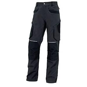 Pantalon de travail Deltaplus MOPA2GR, tailleL, 97% coton 3% élasthanne, grs