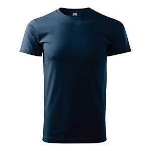 Koszulka MALFINI BASIC, granatowa, rozmiar M