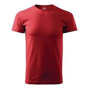 Koszulka MALFINI HEAVY NEW, czerwona, rozmiar XL