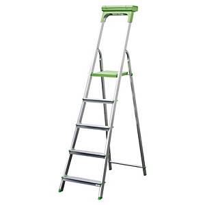SAFETOOL 3730.05 LADDER 5 STEPS ALU