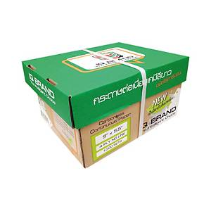 IQ CARBONLESS CONTINUOUS PAPER 4 PLY 9  X5.5   BOX OF 1000 WHITE