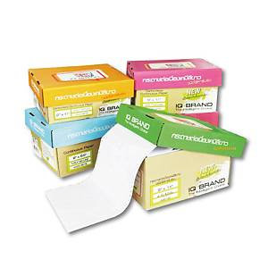 IQ CARBONLESS CONTINUOUS PAPER 3 PLY 9  X11   BOX OF 500 WHITE