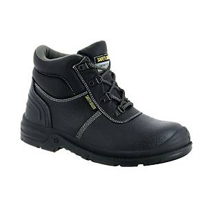 Safety Jogger Bestboy 2 S3 High Cut Safety Shoes Black - Size 38