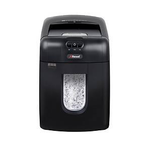 Destructeur de papier automatique Rexel Auto+130X, rognures, 1 utilisateur
