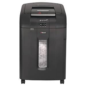 Dokumentförstörare Rexel Auto+ 600X, automatisk arkmatning, korsskärning