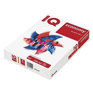 Kancelársky papier IQ Economy, A5, 80 g/m², biely, 500 listov/balenie