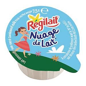 Lait concentré Régilait Nuage de lait - non sucré - boîte de 300 dosettes