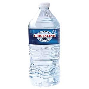 Eau Cristaline 1 L - pack de 6 bouteilles