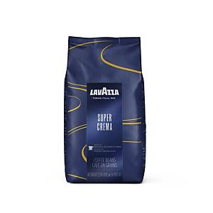 Lavazza Super Crema Coffee Bean Pouch 1Kg