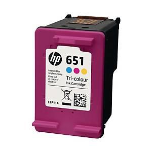 PK3 HP651 C2P11AE I/JET CART 3 COL