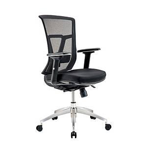 WORKSCAPE เก้าอี้สำนักงาน VERONA DIRECTOR EM-207D สีดำ