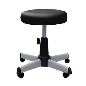 APEX APC-405 Bar Stool with Wheels Black