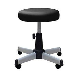 APEX เก้าอี้บาร์ล้อเลื่อน APC-405 สีดำ
