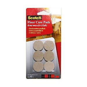 SCOTCH FLOOR CARE PADS 28MM - PACK OF 12