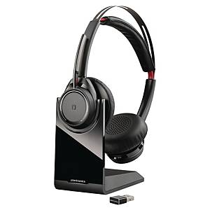 Headset Plantronics  Voyager Focus UC B825-M, Wireless, schwarz