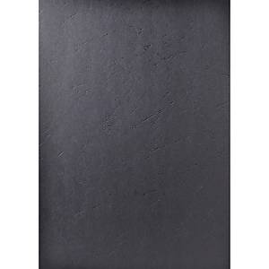 Exacompta Forever Recycled Leather Grain Effect A4 Binding Cover, Black Pack 100