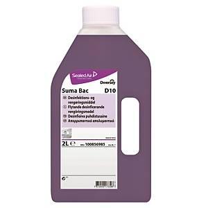 Rengørings- og desinfektionsmiddel Diversey Suma Bac  D10 , 2 L