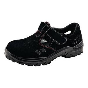 Sandały BATA SALSA S1 ESD SRA, czarne, rozmiar 42