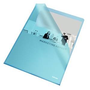 Chartek Esselte, A4, blå, pakke a 100 stk.